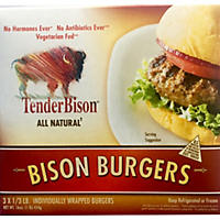 TenderBison Burger Box (1/3 lb. ea., 36 ct.)