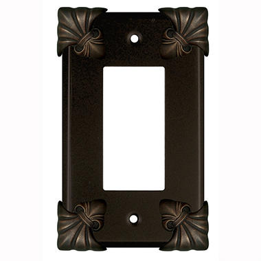 Ashbey Single Decora GFI in Antique Bronze