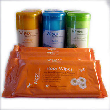 Wipex Starter Kit Cleaning Wipes Variety Pack - 12 pk.