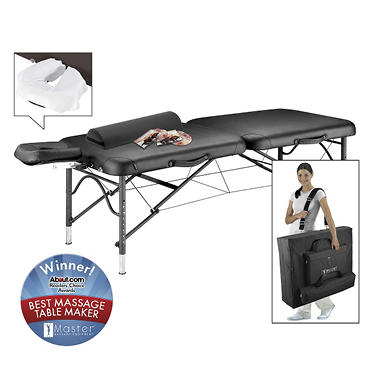 Master Stratomaster Ultra Lite Portable Massage Table - 28""