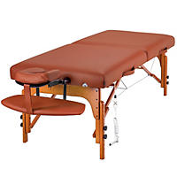 "Master Santana Therma Top LX King Size Massage Table - 31"" - Carry Case"