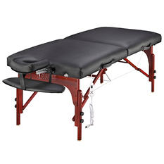 "Master Montclair Therma-Top Pro Package Massage Table - 31"" - Carry Case"