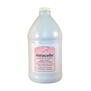 Miracelle Deep Tissue Massage Lotion - ½ Gallon