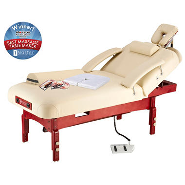 Master SpaMaster Power Lift LX Stationary Massage Table - 31""