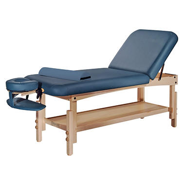 Master Laguna Lift Back Stationary Massage Table - 30""