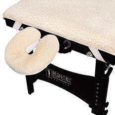 SpaMaster Essentials Massage Table Fleece Pad Set