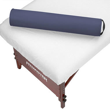 "Massage Table Round Bolster - 6"" - Navy Blue"