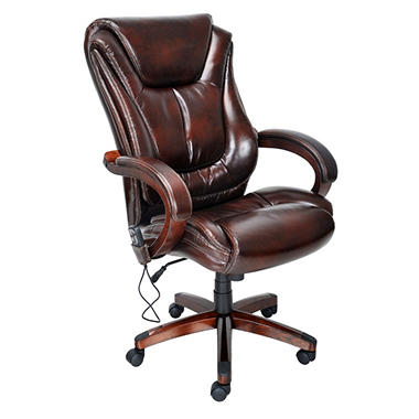 Lane - Big & Tall Bonded Leather Executive Massage Chair
