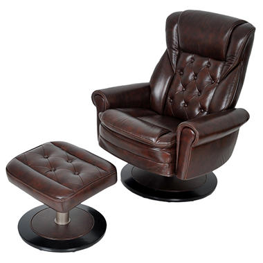 Thomasville Recliner and Ottoman