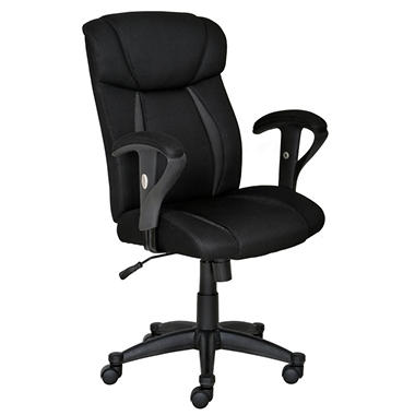True Innovations - Super Task Chair - Black