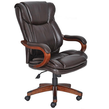 Lane Big & Tall Bonded Leather Executive Chair Frye