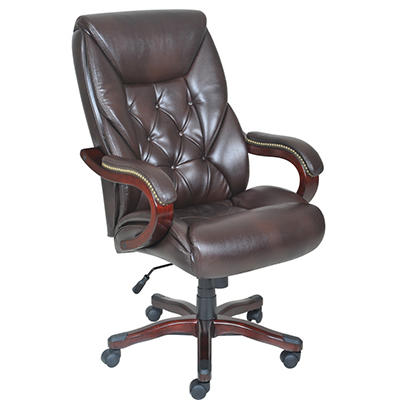 Lane Big & Tall Bonded Leather Executive Chair