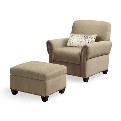 Black Mountain Reading Chair & Ottoman