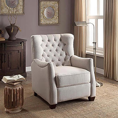 Camille Pushback Recliner Sam S Club