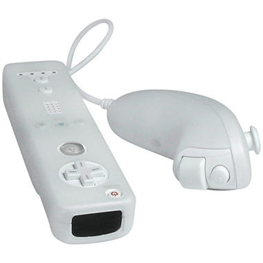 CTA Silicone Skins for the Nintendo Wii Remote & Nunchuk - Clear