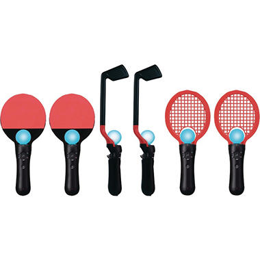 CTA 6-in-1 Competition Sports Kit for the PlayStation Move