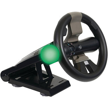 CTA PlayStation Move & DualShock Controller Racing Wheel with Stand