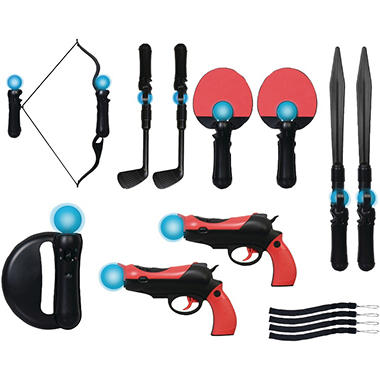 CTA 14-in-1 Family Pack for the PlayStation Move