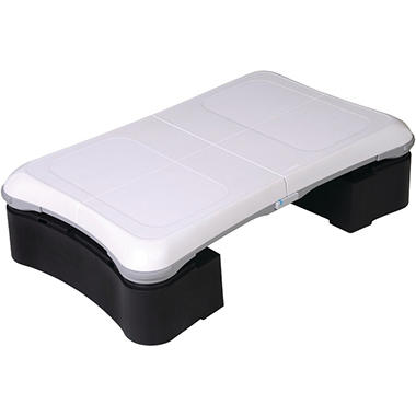 CTA Aerobic Step for Wii Fit Balance Board - Black