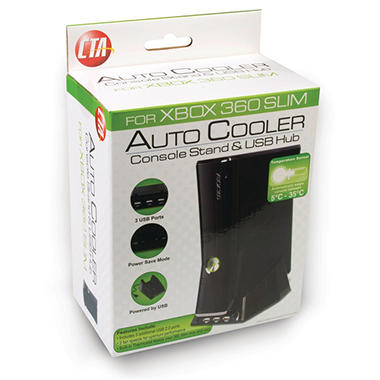 CTA Turbo Cooling Fan with 3 USB Hubs for the Xbox 360