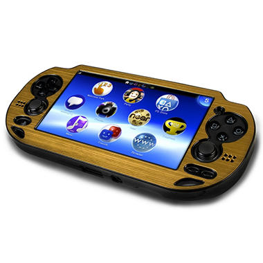 CTA Gold Metallic Faceplate Case for the PS Vita