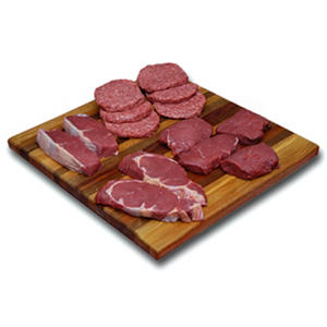 TenderBison Meat Lovers Steak and Burger Combo Pack