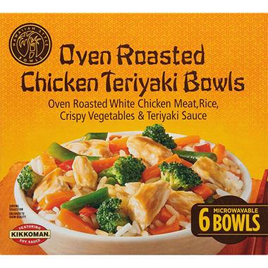 Hawaiian Style Bowls Chicken Teriyaki - 6/12.5 oz.