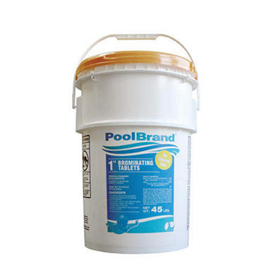 "Pool Brand� 1"" Brominating Tablets-45 lb. bucket"