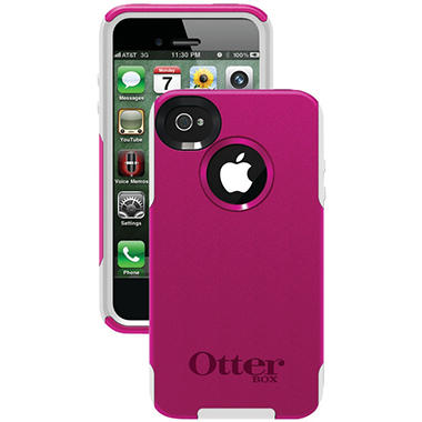 Otterbox Commuter Series Case for iPhone 4/4S - Hot Pink/White