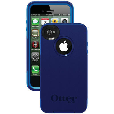 Otterbox Commuter Series Case for iPhone 4/4S - Night Blue/Ocean
