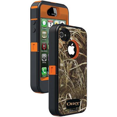 Otterbox Defender Series Case for iPhone 4/4S - Blaze Orange/Max 4 Camo