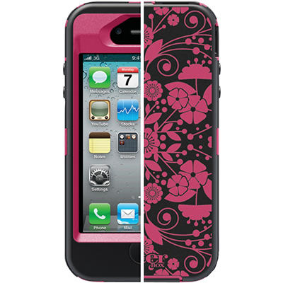 Otterbox Defender Series Studio Case for iPhone 4/4S - Perennial