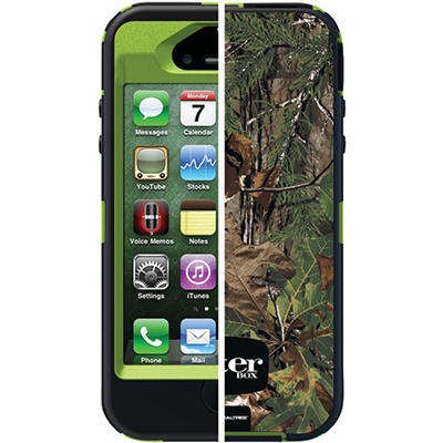 Otterbox Defender Series with Realtree for iPhone 4/4S - Camo Xtra Green