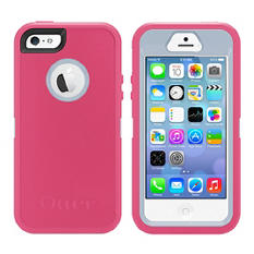 OtterBox iPhone 5/5S Defender Case - Pink/Light Gray