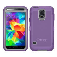 OtterBox Defender Series Case for Samsung Galaxy S5 - Plum Punch