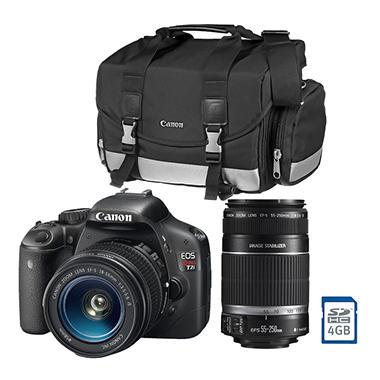 Canon T2i Digital SLR Double Zoom Lens Kit