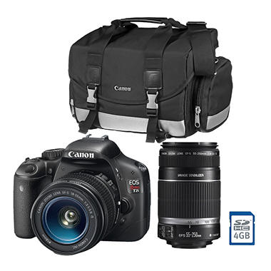 Canon T2i Digital SLR Double Zoom Lens Kit