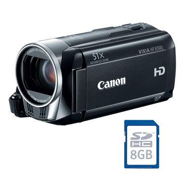 Canon HF R300 Camcorder Bundle