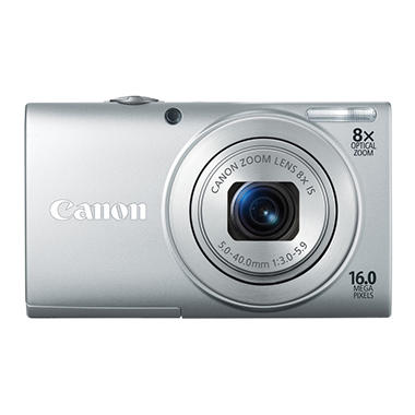 Canon A4000 16MP Digital Camera - Silver