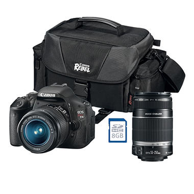 Canon T3i 18.0MP Digital SLR Value Bundle