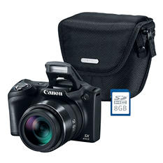 Canon PowerShot SX410 Digital Camera Bundle with 20MP, 40x Optical Zoom, Camera Bag and 8GB SDHC Card