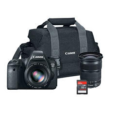 Canon EOS 6D 20.2MP Digital SLR Camera Bundle with 32GB SD Card, and 300DG Gadget Bag