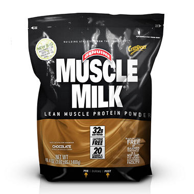 Muscle Milk Lean Muscle Protein Powder - Chocolate - 3 lbs.