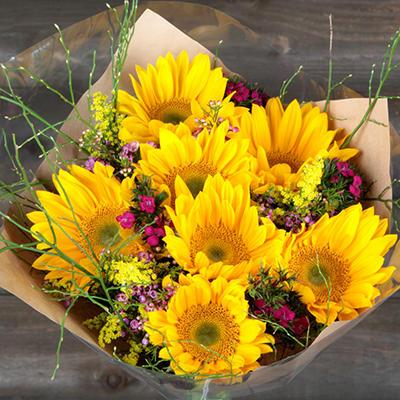 Sunshine Day Bouquet without Vase - 5 pk.