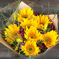 Sunshine Day Bouquet without a Vase