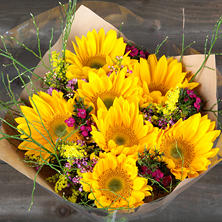 Sunshine Day Bouquet (vase not included)