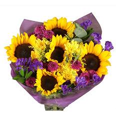 Contagious Love Sunflower Bouquet - 14 Stems
