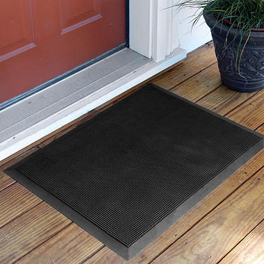 "Brush Clean Mat - 36"" x 60"" - Black"