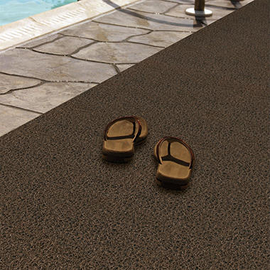 "Pool & Spa Mat - 4"" x 6"" - Brown"