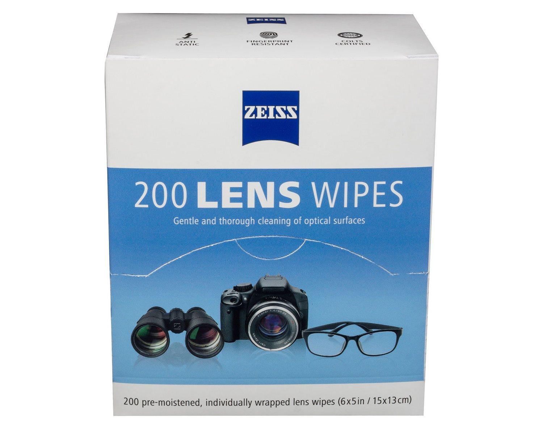 zeiss pre moistened lens cloths wipes ebay